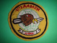 Hand Sewn Patch USMC 1st LAAM Battalion HAWK Team From Vietnam War Era
