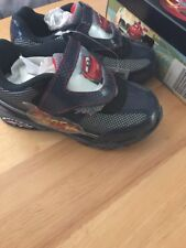 DISNEY CARS 2 LIGHTNING McQUEEN Light-Up Shoes Sneakers Toddler's & Boys Size 11