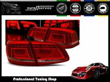 FEUX ARRIERE ENSEMBLE LDVWD5 VW PASSAT B7 2010 2011 2012 2013 2014 RED WHITE LED