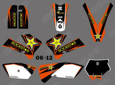 Full Graphics Kit For KTM SX 85 SX85 85SX 2006-2012 Deco Decal Stickers Panels
