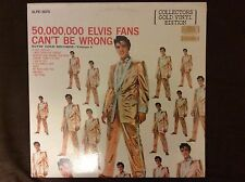 Elvis Presley 50,000,000 Elvis Fans Can't Be Wrong 1978 Colored Vinyl New Sealed