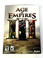 Age of Empires III PC CD-ROM Game (Microsoft, 2005) COMPLETE