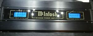 OLD SCHOOL MCINTOSH MC4000M ALL CHANNELS PLAY AMP HAS ISSUES PRICED TO MOVE NOW!