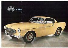 Volvo P1800 Coupe 1960-61 UK Market Leaflet Sales Brochure