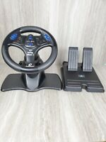 Playstation 1 & 2 PS V3 FX Tilt Steering Wheel Pedals Set Racing Game Controller