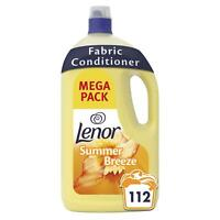 Lenor Fabric Conditioner Summer Breeze, Lasting Freshness - 3.92L & 112 Washes