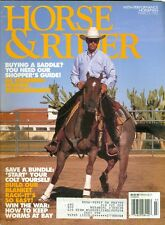 1992 Horse & Rider Magazine: Saddle Shopping Guide/Al Dunning/Start Colt/Worms