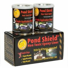 Pond Shield Non Toxic Epoxy Liner - Waterproof Formula w/ Strength & Flexibility