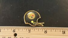 1970s VINTAGE PITTSBURGH STEELERS OLD 2 BAR FACE MASK HELMET LAPEL PIN, RARE!