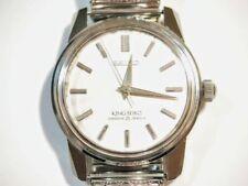 SEIKO King Seiko KS Diashock 25 Jewels 44999 Vintage Hand-Winding Watch A45