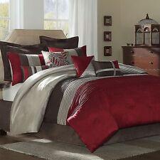 Tradewinds 14 Piece Bedding Ensemble Comforter Set – Queen (Red) Luvtex