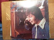 MCA LP RECORD/JERRY JORDAN/ PHONE CALL FROM GOD/ VG+ VINYL/SHRINK