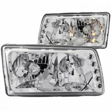 ANZO For Mercedes-Benz 560SEL 1986-1991 Crystal Headlights Chrome
