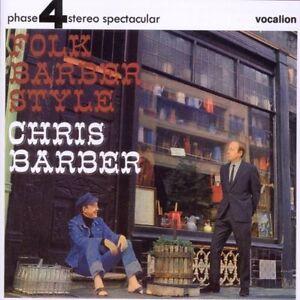 Chris Barber - FOLK BARBER STYLE - CDLF8118