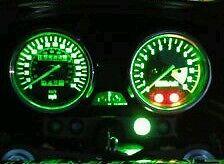 led clock upgrade kit lightenUPgrade GREEN ZRX1100