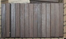 """wenge pen blanks, 3/4 X 3/4 X 6"""". 12 pack with free shipping."""