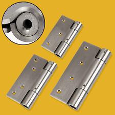 1 Paar Türscharniere EDELSTAHL 75-125 mm massiv Beschlag Türschließer neu