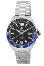 New Tag Heuer Formula 1 Automatic GMT Black Dial Men's Watch WAZ211A.BA0875