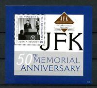 St Vincent & Grenadines 2013 MNH John F Kennedy JFK 50th Mem 1v S/S II Stamps