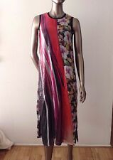 NWT CLOVER CANYON floral sequin shift dress sleeveless maxi size S - $350