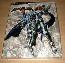 Soul Calibur IV 4 - Bradygames Limited Edition Guide ( Lösungsbuch Berater ) Neu