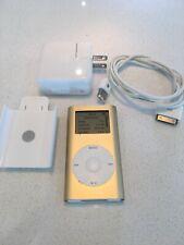 Apple Ipod Mini Gold First Generation (4GB)