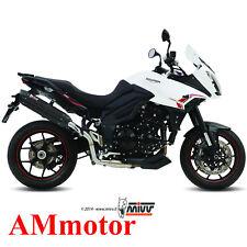 Mivv Triumph Tiger 1050 Sport 2013 13 Scarico Marmitta Suono Black Moto