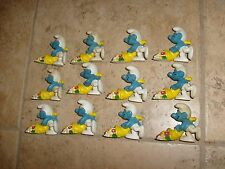 12 Vintage SMURF Cornucopia Peyo Smurfs Birthday Party Feast CHEAP Wholesale Lot