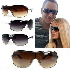 Piloten Sonnenbrille Pornobrille Fliegerbrille Schwarz Lila Grau Silber Braun YU