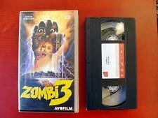 VHS.07) ZOMBI 3 - AVOFILM (LUCIO FULCI)