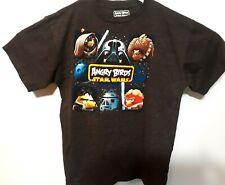 Fifth Sun Size XL Angry Birds Star Wars  T-Shirt Black