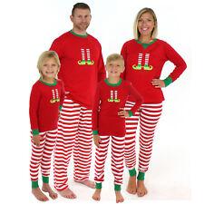 Familia a Juego Hombre Mujer Infantil Pijama Navidad Conjuntos de