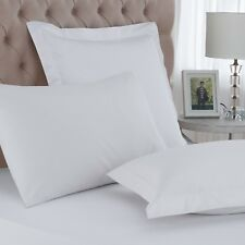 Great Knot 100% Egyptian Cotton Percale 200 Thread Count Continental Pillowcases