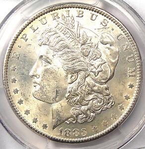 1883-O VAM-22A Partial E Reverse - PCGS MS62 CAC PQ - Hot 50 VAM - $1,100 Value