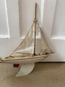 Vintage Star Pond Yacht Endevour 1