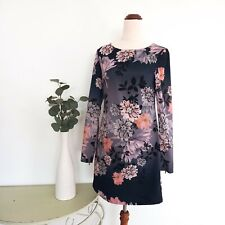 Rodeo Show Dress Size 6 A-Line Floral Print Long Sleeve Romantic Party Evening