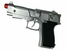 Toy Diecast Cap Gun Metal Revolver Costume 8 shot Gangster Pistol+Free 6x72caps