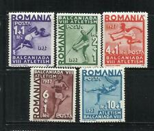 RUMANIA . Año: 1937. Tema: DEPORTES.