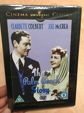 Palm Beach Story-Claudette Colbert Joel McCrea(R2 DVD)New+Sealed Preston Sturges