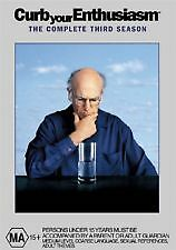 CURB YOUR ENTHUSIASM: COMPLETE THIRD SEASON - NEW & SEALED R4 DVD (LARRY DAVID)