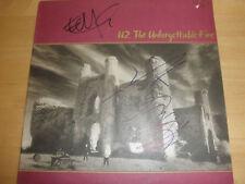 U2/ADAM CLAYTON & EDGE SIGNED LP BY BOTH COA PROOF!