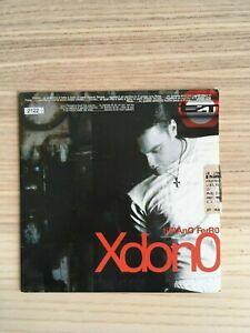 Tiziano Ferro - Xdono - CD Single  PROMO - Emi 2001 - Perdono