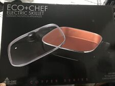 """Eco Chef 12"""" Electric Skillet"""