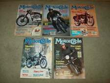 5 THE CLASSIC MOTORCYCLE MAG 1992 british TRIUMPH HARLEY norton V-TWIN bmw*
