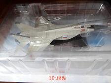 DeAGOSTINI russe/USSR Legends MIG-31 Plane-NR2-Die-Cast Model