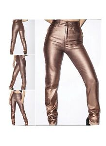 American Apparel high waisted jeans In Rose Gold ,Size 24 , NWT