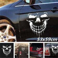 53*59 cm Skull Hood Decal vinyl large Graphic sticker Car Boat tailgate window
