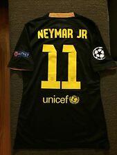 Neymar Jr FC Barcelona 2013-14 Player Issue UCL Match Shirt Un Worn