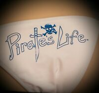 PIRATE'S LIFE Brand Bikini WHITE BOTTOMS