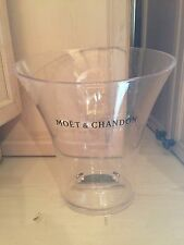 Moet Chandon clear acrylic ice bucket  with logo printed